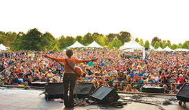 The Vancouver Folk Music Festival is one of several Canadian festivals who will be affected by the delays in visa processing.